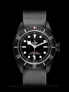 Baselworld 2016 - New Tudor Black Bay Dark - Swiss watch