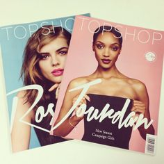 The fashion-packed has just arrived in selected stores and is free with every online order. Now you have to choose between Jourdan or Rosie? Topshop Trends, Jourdan Dunn, Pick And Mix, Vogue Covers, Magazine Design, Covergirl, Editorial Design, Womens Fashion, Fashion Trends