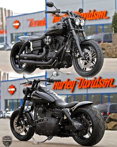 Harley-Davidson Fat Bob customized by Thunderbike
