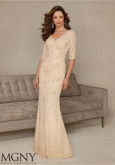 Cheap mother of bride, Buy Quality mother of bride dress directly from China mother of the bride Suppliers: 2016 Newest Elegant Vestidos V-Neck Half Sleeves Long Mother of the Bride Dress Formal Lace Mermaid Evening Dresses High Quality Half Sleeve Dresses, Mob Dresses, Dressy Dresses, Wedding Dresses, Half Sleeves, Party Dresses, Dresses 2016, Gowns 2017, Dress Formal