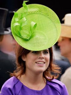 Princess Beatrice some people look silly in hats maybe just having fun is the idea