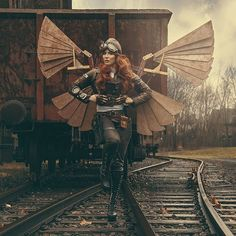 "steampunktendencies""The Aviator"" Photo&Edit: Reflection Design @memagraw Model: Stygian Sin"
