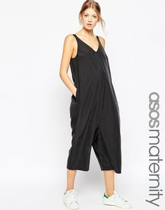 Image 1 of ASOS Maternity Minimal Jumpsuit