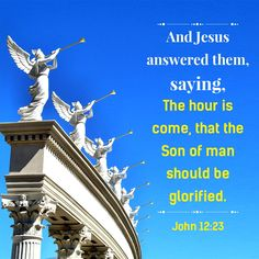 """""""And Jesus answered them, saying, The hour is come, that the Son of man should be glorified."""" (John 12:23).  https://www.holyspiritspeaks.org/videos/chinese-choir-episode-19/    Eastern Lightning 