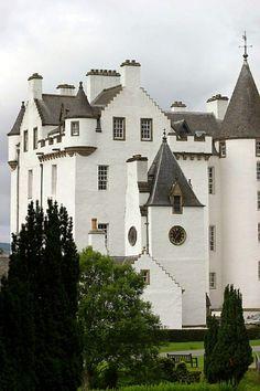Blair Castle in Perthshire, Scotland...