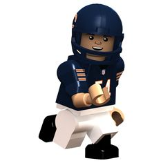 oyo sports figures are compatible with Legos | Brian Urlacher