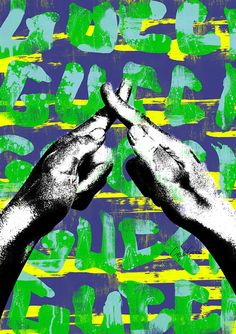 Sign language G 02 ポスター Sign Language, Imagination, Pop Art, Movie Posters, Image, Projects, Art Pop, Film Poster, Popcorn Posters