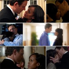 #Olitz~~ Tony Goldwyn and Kerry Washington on    Scandal