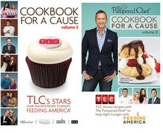 We're donating 2 dollars to #FeedingAmerica for every Cookbook for a Cause bundle sold this month! #PamperedChef
