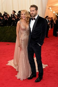 Met Gala 2014. Blake Lively in Gucci Première.