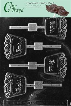 Cybrtrayd K043 Fries Lolly Kids Chocolate Candy Mold * Read more  at the image link. (This is an Amazon affiliate link)