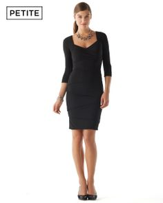 White House | Black Market Petite Instantly Slimming Dress