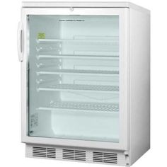 Summit 5.5 Cu. Ft. Glass Door Refrigerator
