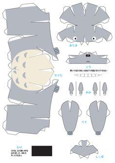Je vous propose aujourd'hui le Paper Craft et l'origami de Totoro. La star de Hayao Miyazaki est à votre portée aujourd'hui. Fans du stud...
