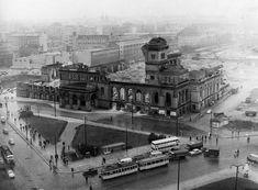 Berlin August 1960 Anhalter Bahnhof