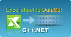 Import Excel sheet to DataSet in C++.NET from ASP.NET web pages or windows application by EasyXLS! XLSX, XLSM, XLSB, XLS spreadsheets in .NET.  #EasyXLS #Excel #Sheet #Import #DataSet #CPPNET Coding, Tutorials, Windows, Writing, Being A Writer, Programming, Ramen, Wizards, Window