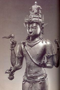 """Silence is the language of God, all else is poor translation "" God Shiva, Silver, Century , Java (Indonesia) Shiva Yoga, Asian Sculptures, Human Sculpture, Hindu Culture, Indonesian Art, India Art, Hindu Deities, Indian Gods, Gods And Goddesses"