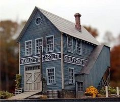 BAR MILLS HO SCALE 1:87 STANLEY STOVE COMPANY KIT! MINT! 0972