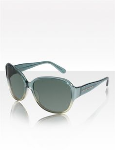 David Yurman Eyewear: Floating Logo Polarized Sunglasses, Diopside