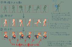 pixel art animation tutorial - Pesquisa Google