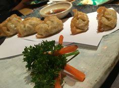 """Vegetable Gyoza at """"KISAKU"""""""