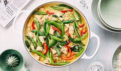 Czerwone curry z kurczakiem na mleczku kokosowym • Lista przepisów • DietMap