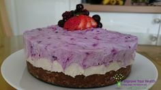Sublime Berry Cheesecake