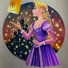 Disney Rapunzel, Disney Pixar, Rapunzel Flynn, Disney E Dreamworks, Disney Nerd, Disney Cartoons, Disney Princess Drawings, Disney Princess Art, Disney Drawings