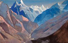 "Mount ""M"" - Nicholas Roerich  1931"