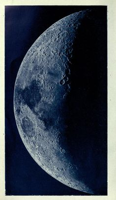 The Moon in Modern Astronomy, Philip Fauth, Astronomy, Night Light, Moon, Inspire, Celestial, Create, Artwork, Vintage, The Moon