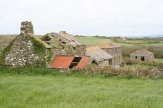 Abandoned farm at Boswarthen (C) Rod Allday :: Geograph Britain and Ireland Landscape Photos, Agriculture, Abandoned, Ireland, Irish, Crafts, Outdoor, Farmers, Decay