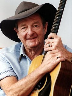 Slim dusty. An Australian treasure. No one could ever capture the Aussie spirit like he could in song......