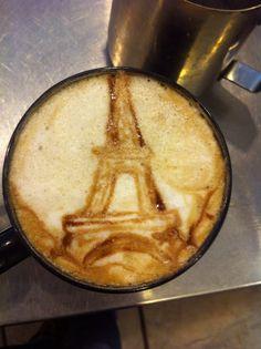 Eiffel Tower Latte by Coffee-Katie.deviantart.com on @deviantART