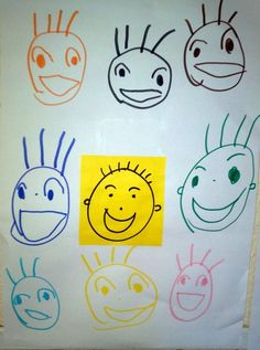 Les émotions - Webécoles - Voiron 3 Feelings Preschool, Emotions Activities, Draw Your, Facial Expressions, Monster, How I Feel, Art Therapy, Art For Kids, Projects