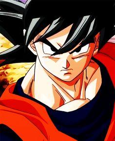 Goku -(kakarot) Dragon Ball z Dragon Ball Z, Goku Dragon, Otaku Anime, Manga Anime, Manga Girl, Anime Girls, Anime Art, Akira, Kid Buu