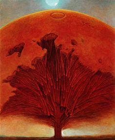 Zdzislaw Beksinski (Polish, 1929-2005) - Untitled