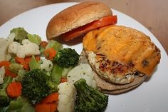 Turkey Burgers--I make sliders to better control portions
