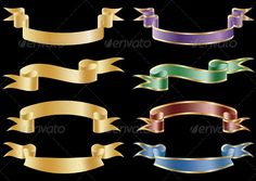 Realistic Graphic DOWNLOAD (.ai, .psd) :: http://hardcast.de/pinterest-itmid-1002260665i.html ... Set of 8 Vector Banners ... banners, collection, curl, flags, gold, ribbon, scroll, set, vector, waving ... Realistic Photo Graphic Print Obejct Business Web Elements Illustration Design Templates ... DOWNLOAD :: http://hardcast.de/pinterest-itmid-1002260665i.html