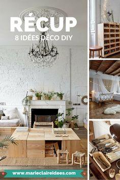 Isabelle et Hubert nous accueillent dans leur château, un lieu de création et de minimaliste. Faites le plein d'inspiration pour avoir un intérieur DIY où la récup est au rendez-vous !