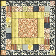 Speedy baby or lap quilt - Free Pattern