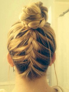 love doing this with my hair