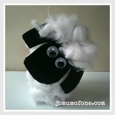 Toilet roll sheep Toilet Roll Craft: Farm Animals
