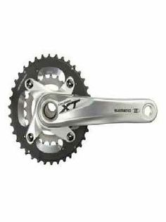 SHIMANO Guarnitura mountain bike 10V XT 38 24 FC-M785-S Argento Prezzo: €156.97