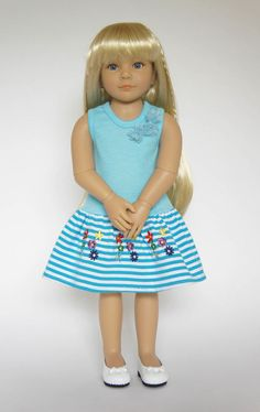 Kidz 'n' Cats Marina, one of the new girls for the summer of 2015 by Sonya Hartmann for her Kidz 'n' Cats doll range.