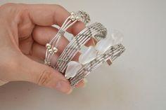 3 pulseras de alambre fáciles