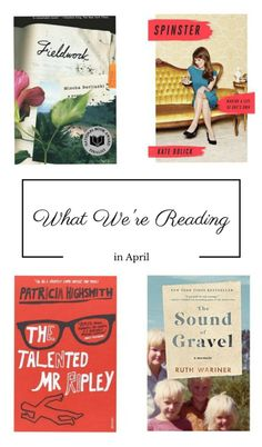 Our book picks this spring include Spinster by Kate Bolick and Ruth Wariner's memoir The Sound of Gravel