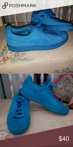 595695270137be Shop Women s Puma Blue size 4 Other at a discounted price at Poshmark.
