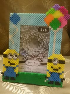 Minion inspired 4x6 picture frame by MythicAllusions on Etsy