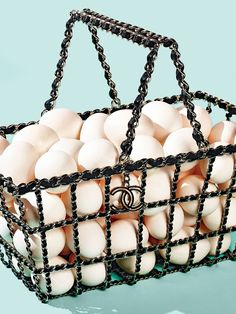 Fall's Biggest Trends: Supermarket Chic - Chanel basket