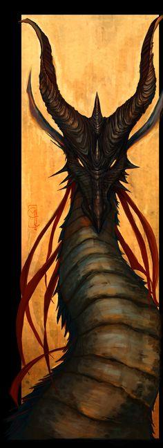 Council member (original) the Horned Dragon, Haeros from Ulmaya.